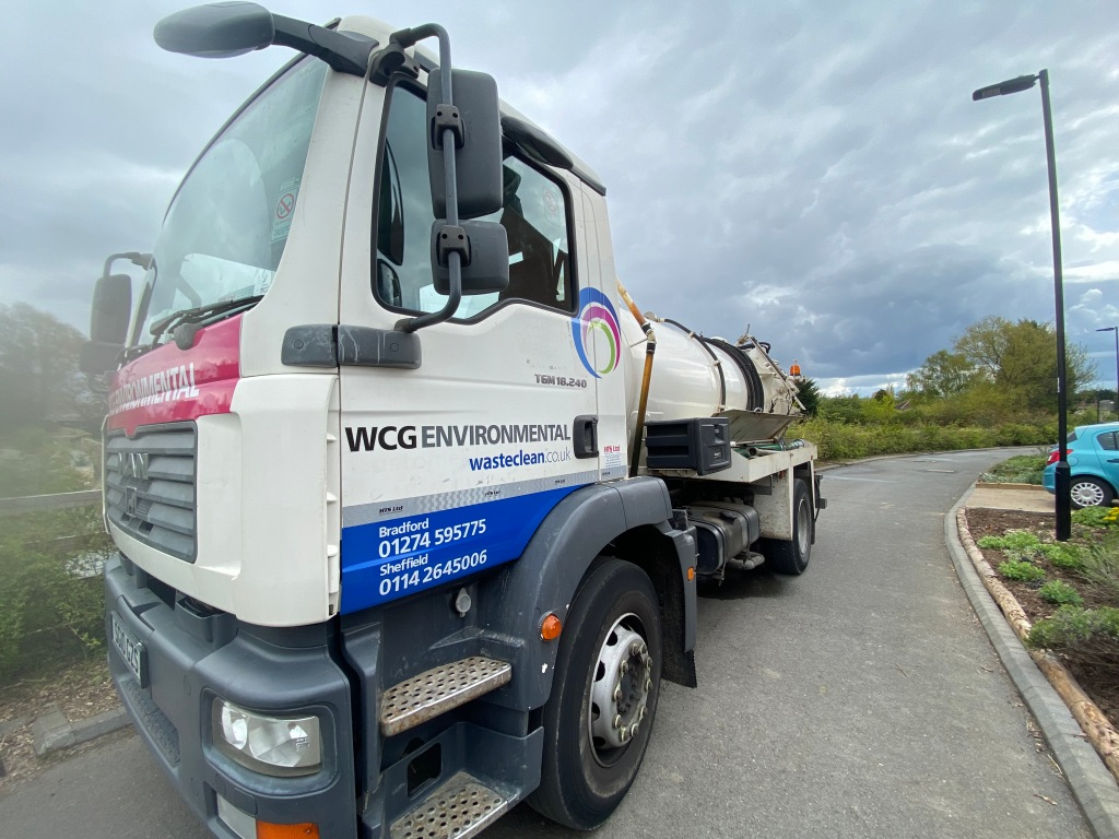 WCG Environmental truck.